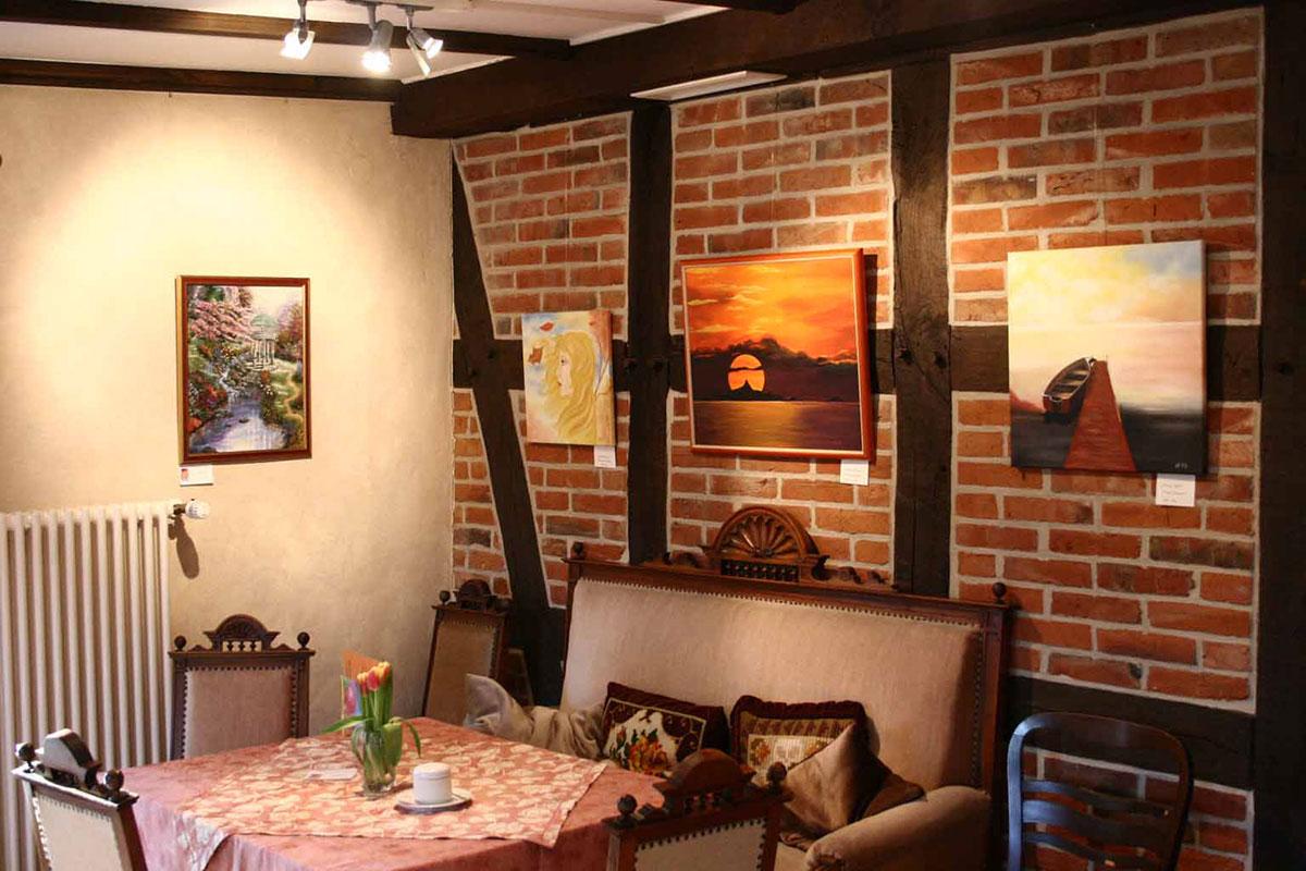 Kunst im Café